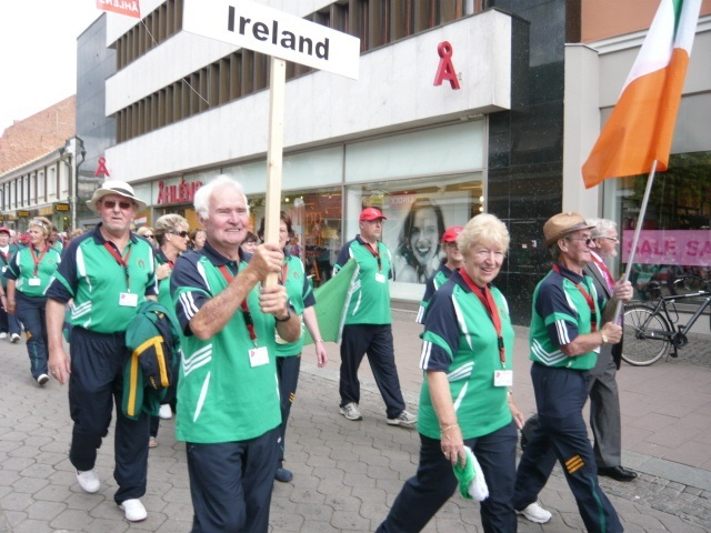 The Irish contingent at Vaxjo, Sweden 2010